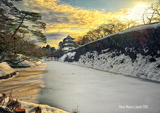 Hirosaki Castle Japan. © Glenn Waters. Over 64,000 visits to this photo.  Thank you. | by Glenn Waters ぐれんin Japan.