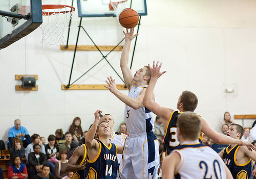 Men's Basketball vs. Corban College 2 | Rich Skillman (#5 ...