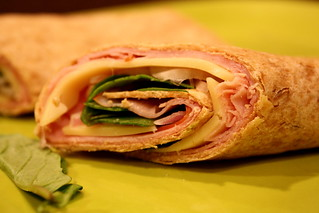 55/365: Ham & Cheese Wrap | by The Cleveland Kid