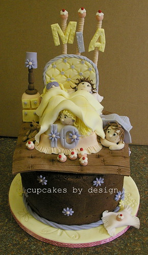 Sleepover cake for Mia | by ♥Dot Klerck....♥