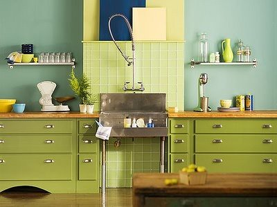 Olive Green Kitchen The Girl Can T Help It Flickr