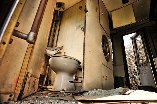 Train Toilet | by goingslowly