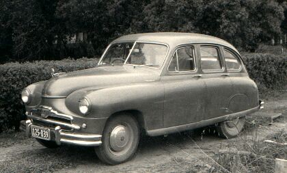 Standard Vanguard Phase I 1952 Taken March 1958 At Our