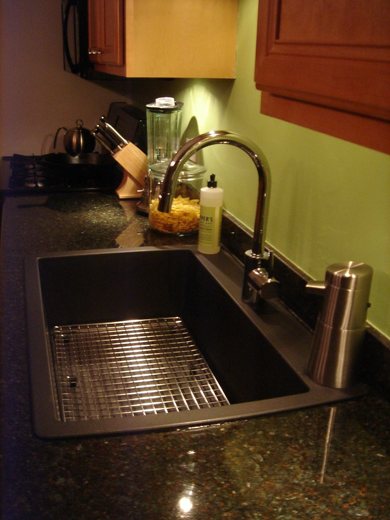 kitchen sink faucets after sink and faucet installed blanco single 2702