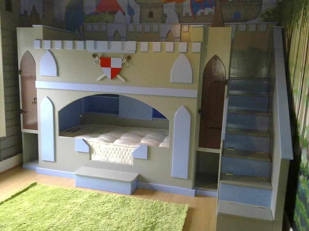 Boys Castle Dream Fairytale Themed Bunk Bed