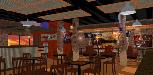 Restaurant Interior Design 3d Restaurant Rendering Res
