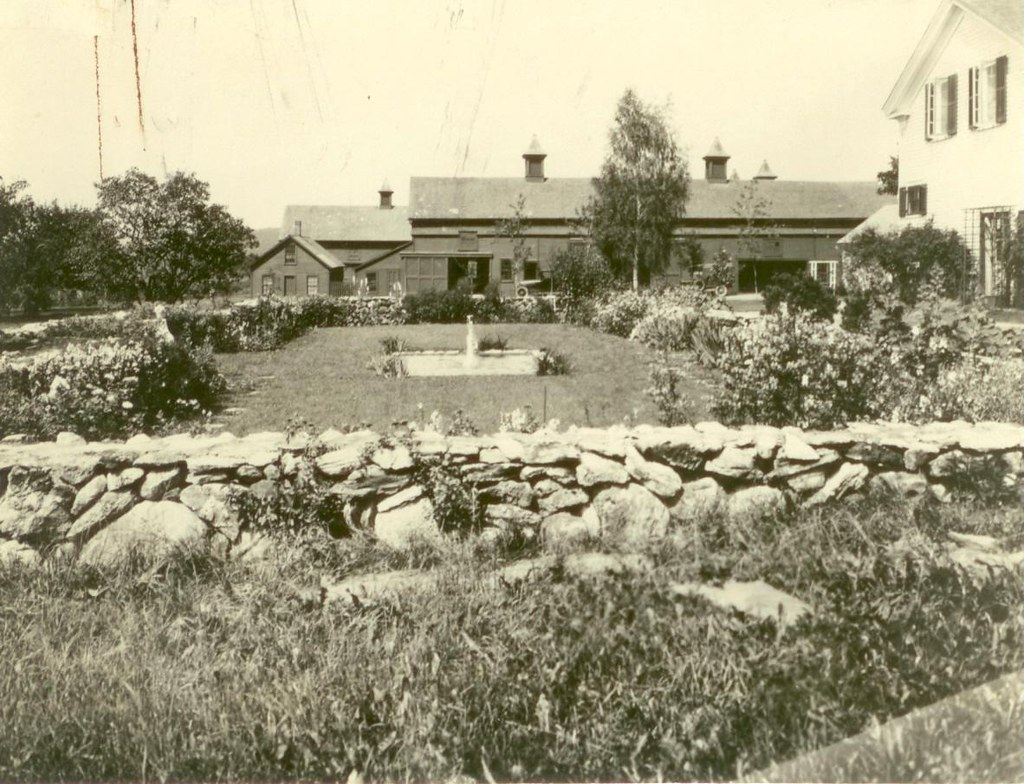 1931   Cricket Hill Garden And Barn | By Crossett Library Bennington College