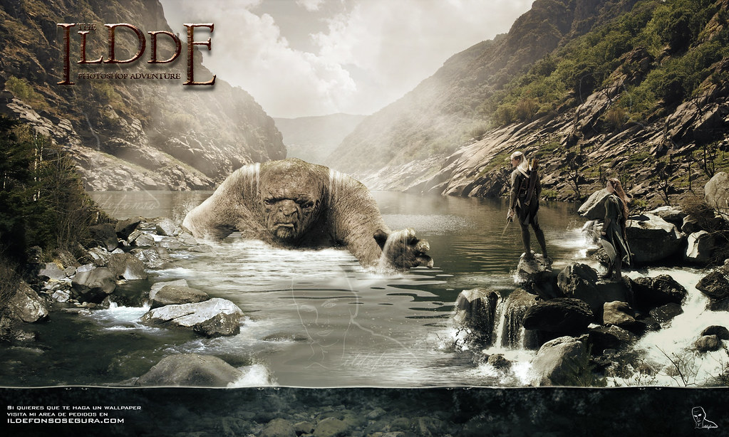 Wallpaper Inspired In The Hobbit Wallpaper Made With