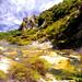 Colourful Waimangu Valley, North Island, New Zealand