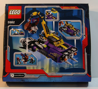 LEGO 2010 Space Police 5982 - Smash 'n' Grab - Box Back | by Mostly Bricks