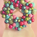 yarn ball & ornament wreath