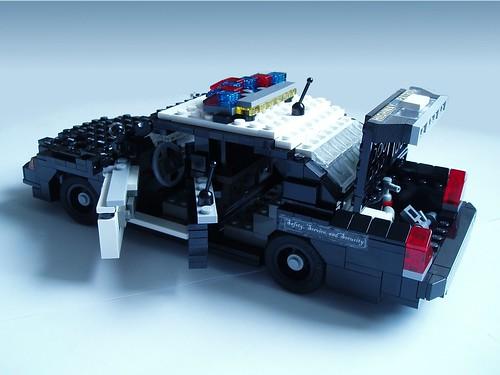 Classic Lego Police Car