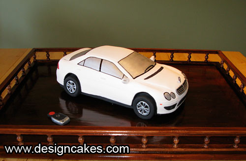Mercedes benz grooms cake e class christine pereira flickr for Mercedes benz cake design