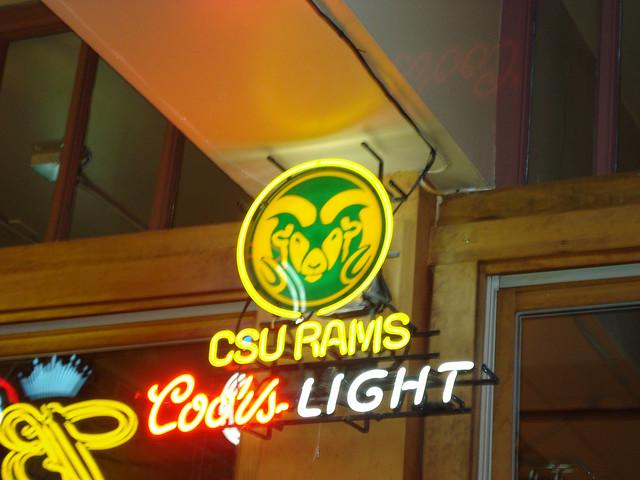 Photo 5 Coors Light Csu Rams Light Up Neon Sign This