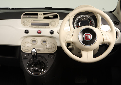 Fiat 500 Steering Wheel Interior Photo | Fiat 500 is a new i… | Flickr