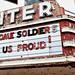 marquee, Center Theater (1941), 1011 West Avenue Northwest, Lenoir, North Carolina (1841), pop. 17,890