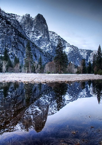 Snow Mountain Reflections | by Dave Toussaint (www.photographersnature.com)
