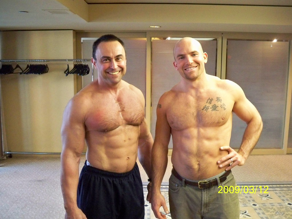 Charles Poliquin lookin' jacked | Sir Charles and Jeremy
