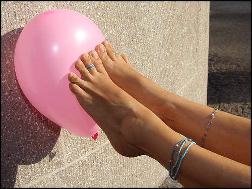 Balloon mature pop