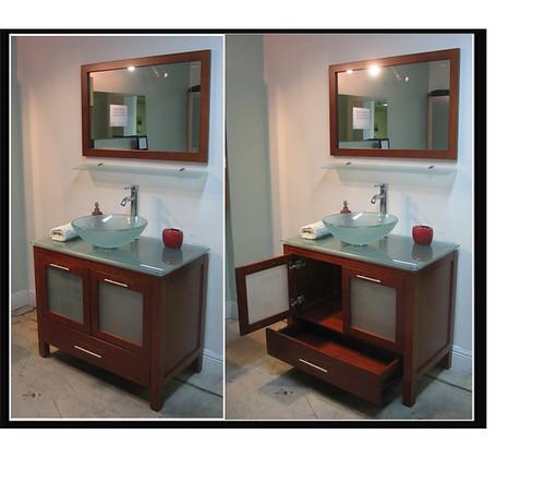 Palermo 36 Chestnut Bathroom Vanity Set For Further Inform Flickr