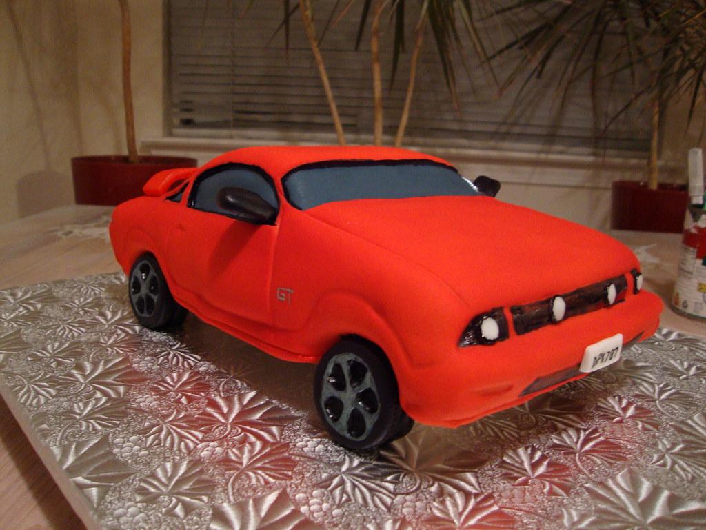 Mustang Gt Cake Laura Varela Flickr