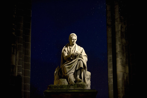 Sir Walter Scott Statue, Edinburgh | by VisitBritain Images