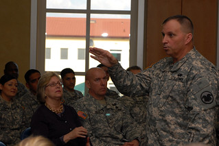 Key Army leaders visit U.S Army Africa headquarters, Vicenza Italy | by US Army Africa