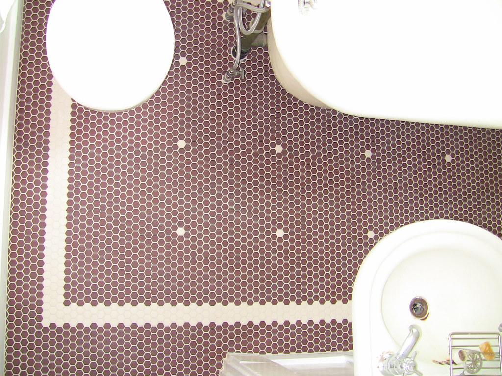 Craftsman Style Bathroom Tile : Craftsman tile bath floor style in a flickr