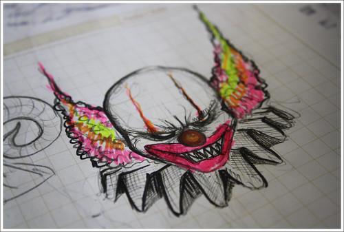 Dibujos Payasos Joker A Lapiz Imagui
