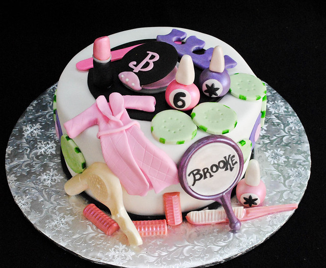 Spa Party Cake Flickr - Photo Sharing!