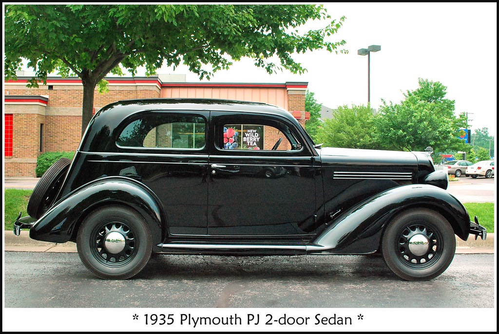 1935 Plymouth Pj Sedan The June 21 2011 Chelsea Wendy S
