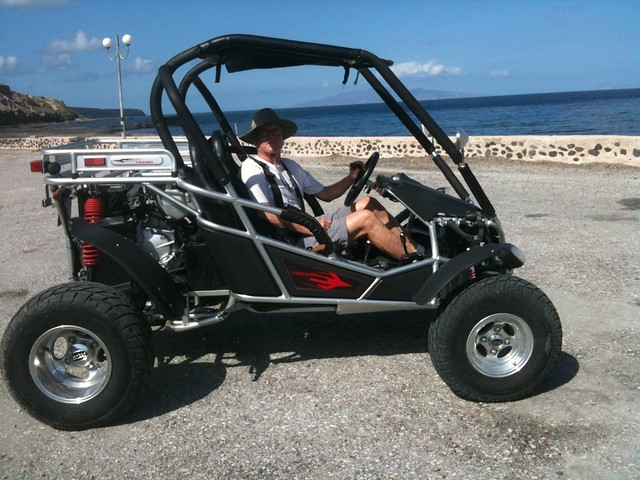 Buggy In Santorini: Get In, Roni! Vourvoulos Beach And Harbor