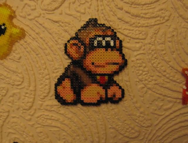 Baby Dk Hama This Baby Donkey Kong Hama Is My Favourite