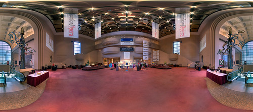Grand Foyer Kennedy Center : Wortham center grand foyer this is an equirectangular