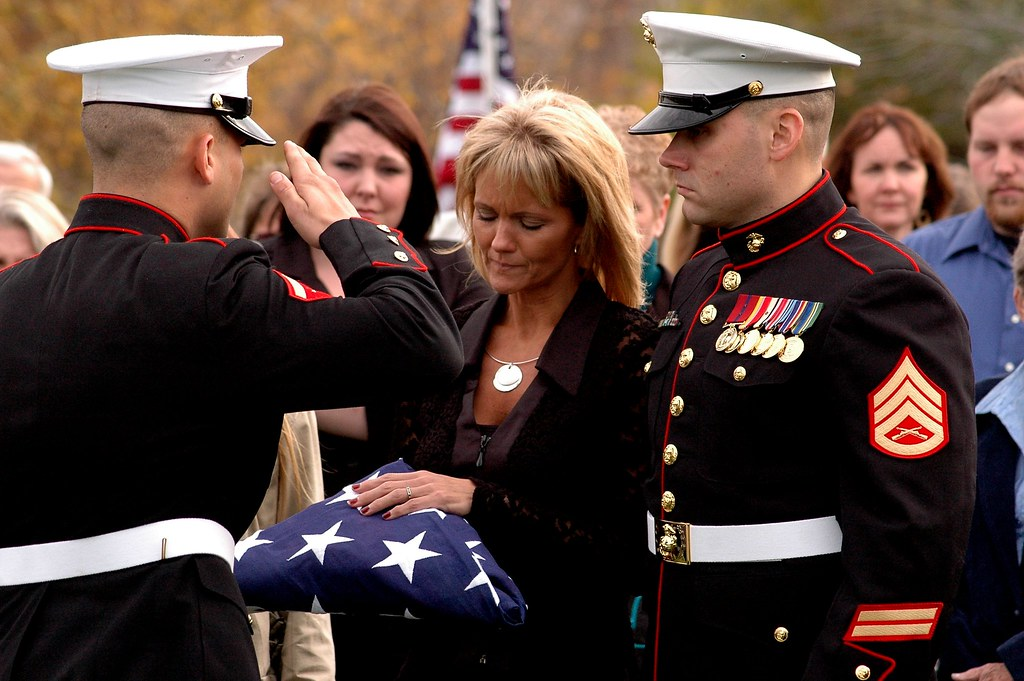 Military funeral | Funeral for a fallen soldier in The ...