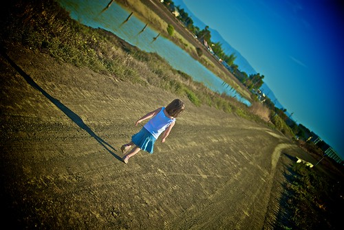 Girl Running on Trail | by moyerphotos