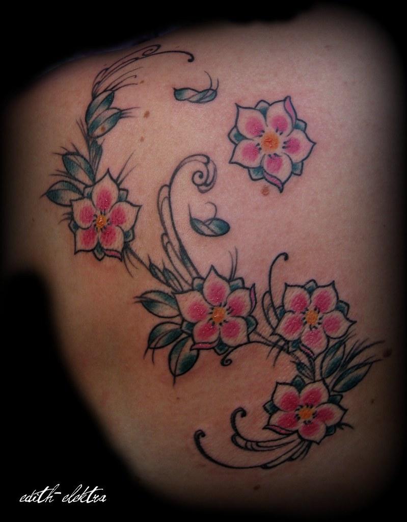 Tattoo Blumen Edel Flickr