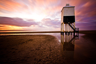 Burnham Beach Lighthouse Sunset - ND110 | by Mathew Roberts