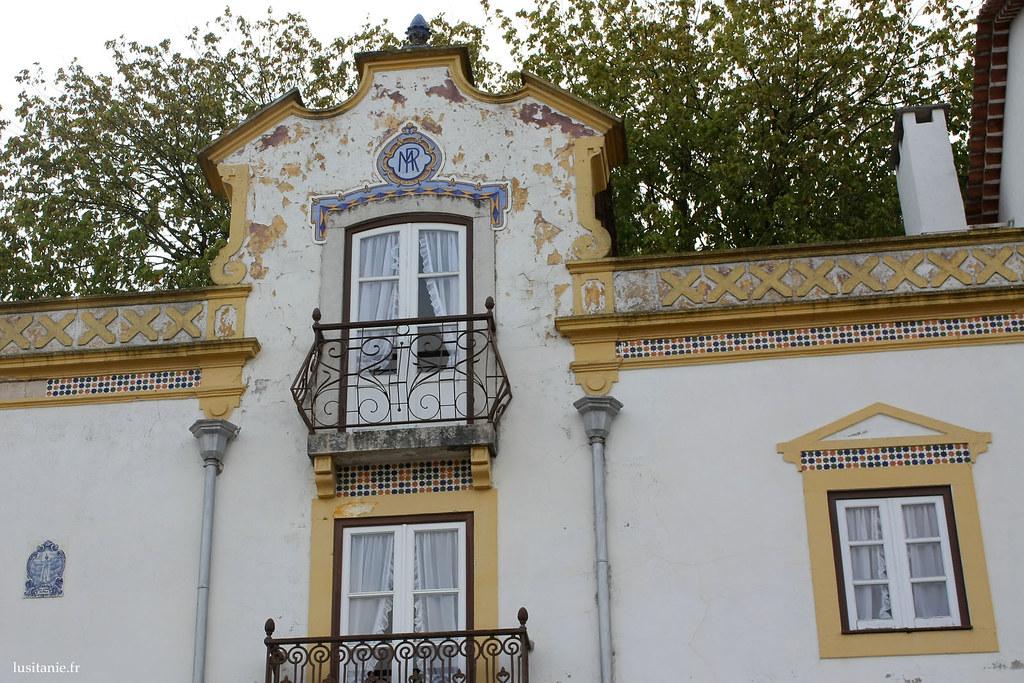Détail des fenêtres portugaises