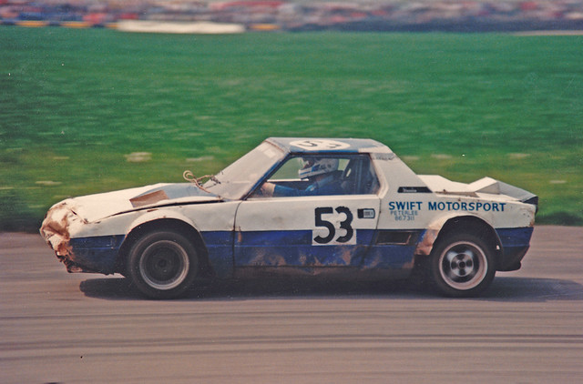 Fiat X19 Racing >> Fiat X19 Rallycross   Racing at Croft back in the 80,s   Howie Fowler   Flickr