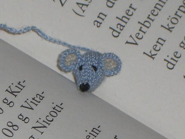 Mini Maus Lesezeichen Simone777 Flickr