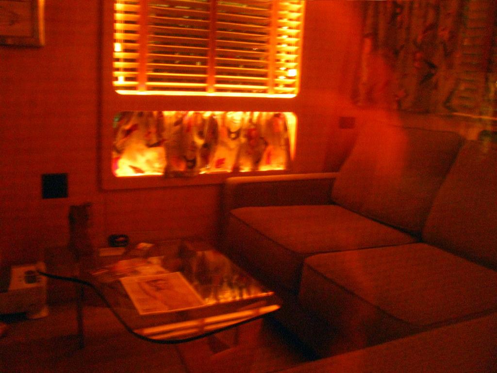 Classy White Living Room Drapes