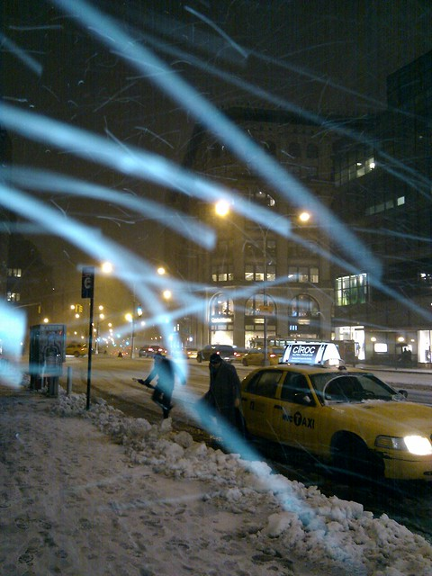 light snow flurries machine