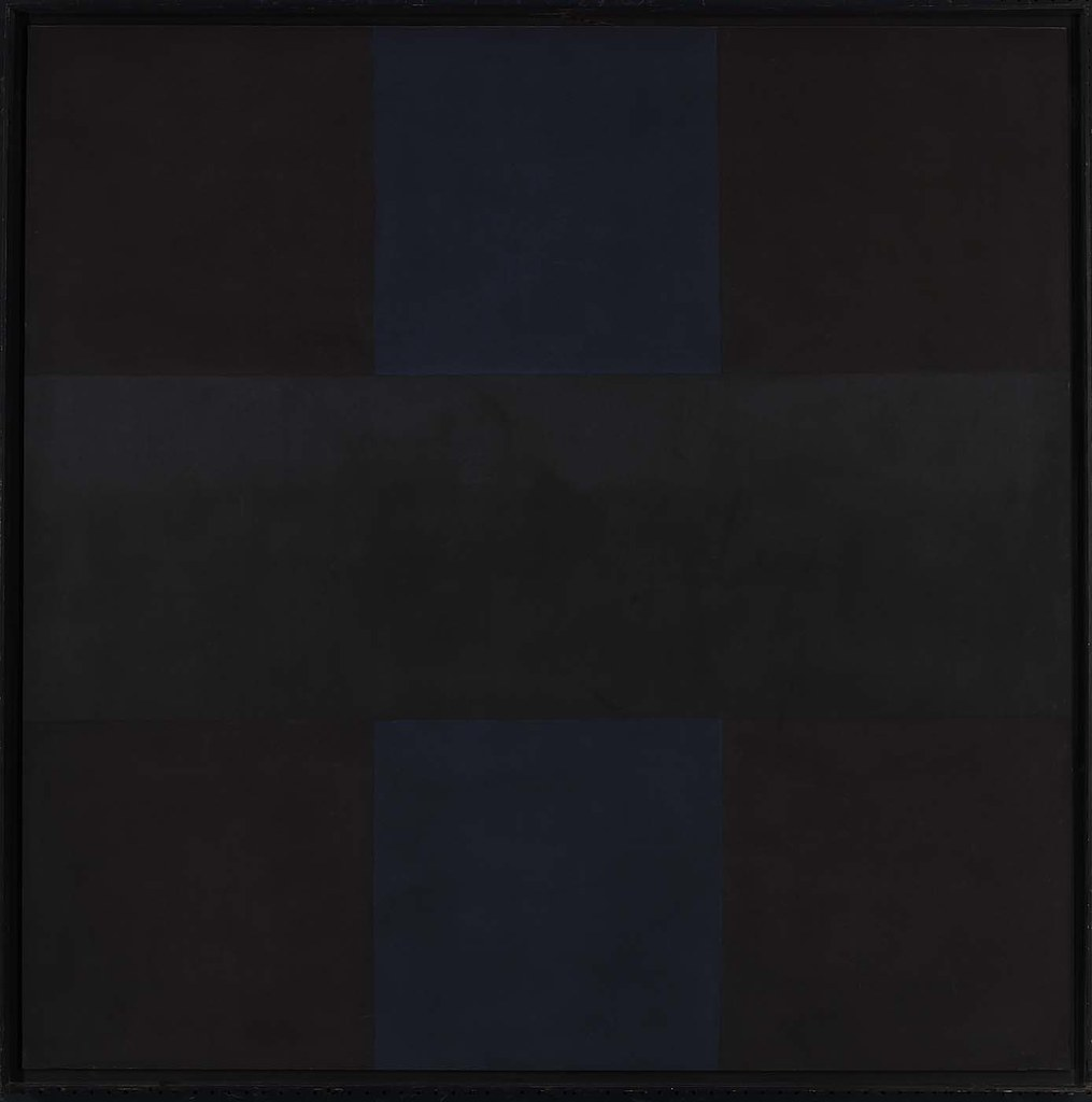 ad reinhardt  abstract painting no  4  1961