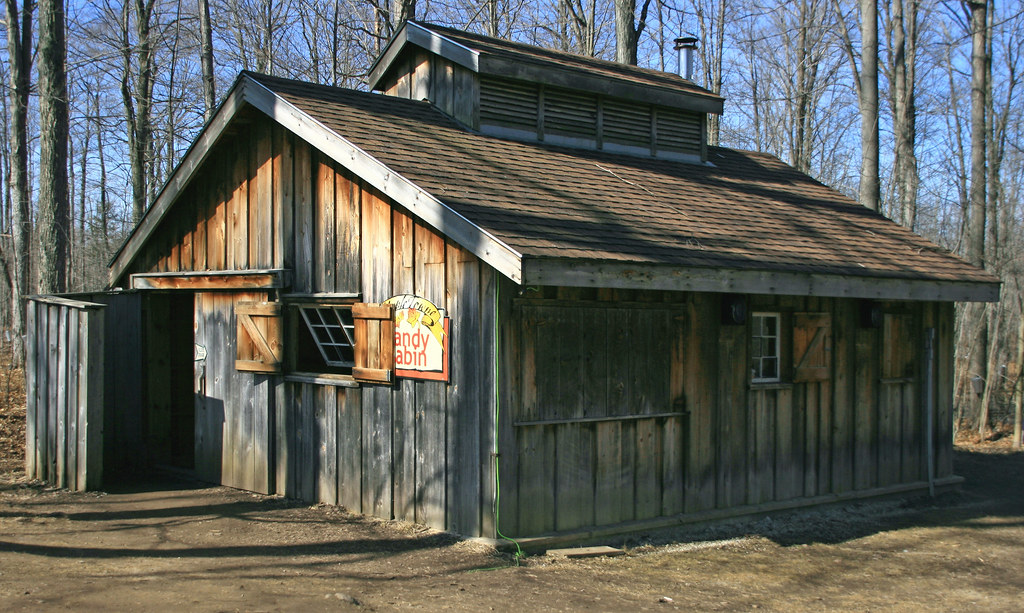 The Candy Cabin Aka Sugar Shack Maple Towne Mountsberg