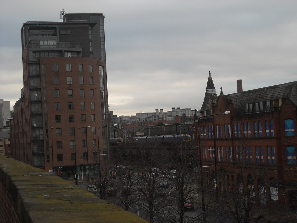 Nice View Of Manchester From G Mex Metrolink Station Flickr