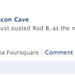 """Bacon just ousted Rod B. as the mayor of The Bacon Cave!"""