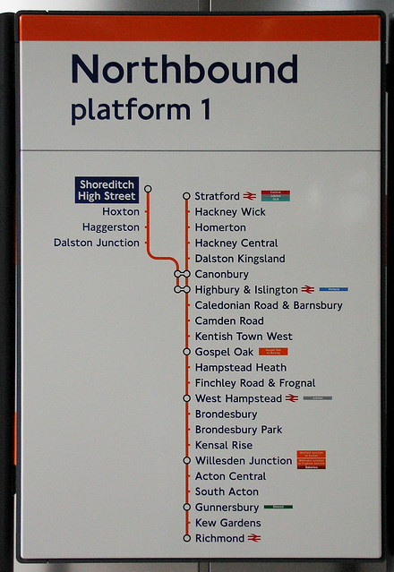 Shoreditch Map: Shoreditch High Street Overground Station