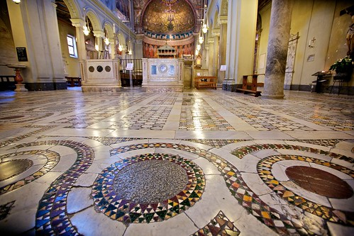 Cosmatesque Floor Of San Clemente Rome Work Of The