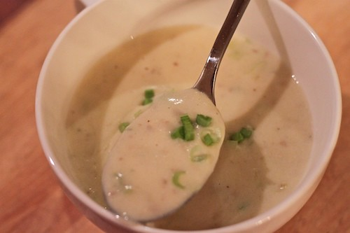 potato-leek soup | by michelle@TNS